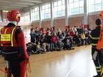Vigili del fuoco al Don Lazzeri per una lezione sulla sicurezza