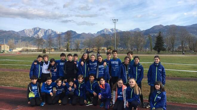Virtus Lucca campionati provinciali di cross