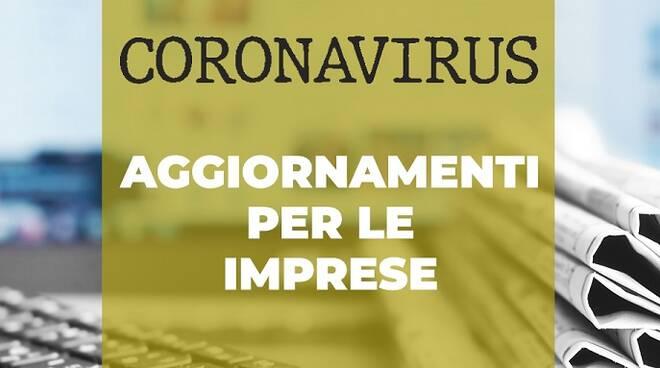 Aggiornamenti imprese coronavirus