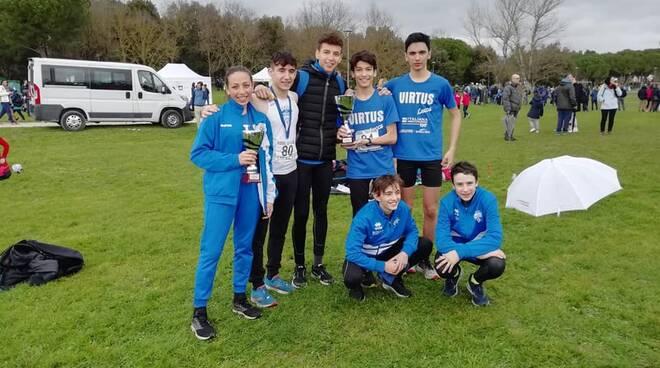 campionati regionali individuali e di società di cross Atletica Virtus Lucca