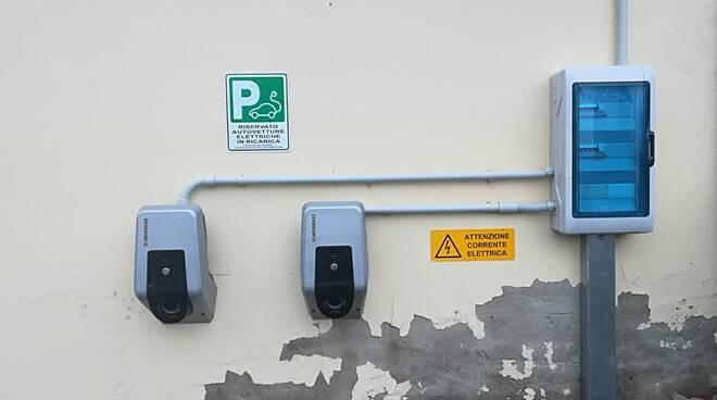 consorzio di bonifica colonnina ricarica auto elettriche