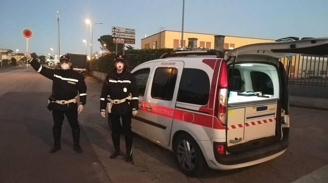 controlli polizia municipale Lucca