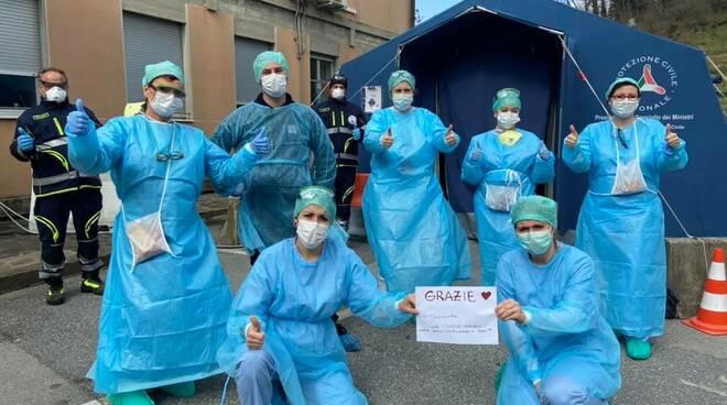 coronavirus infermiere Castelnuovo