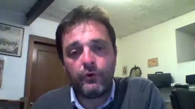 David Saisi sindaco di Gallicano coronavirus bilancio dati