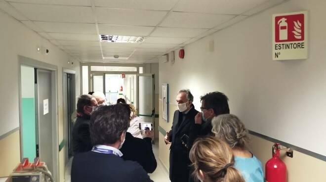 Enrico Rossi ospedale Campo di Marte di Lucca