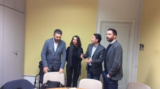 ex candidati sindaco Santini Bindocci Barsanti Lucca