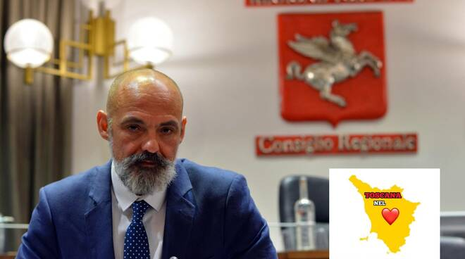 Gabriele Bianchi Toscana Nel Cuore foto nuove consigliere regionale