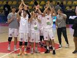 Geonova Lucca festa basket serie B vittoria