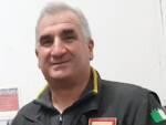 Giordano Bertolucci vigile del fuoco Lucca