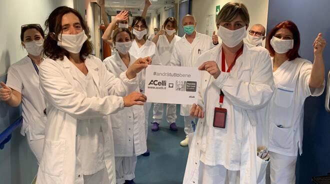 Gruppo Celli dona ecografo al San Luca