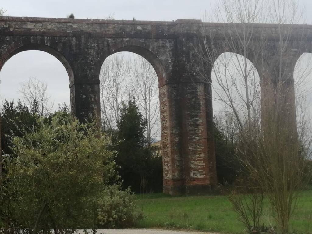 L'acquedotto del Nottolini attende lavori di recupero