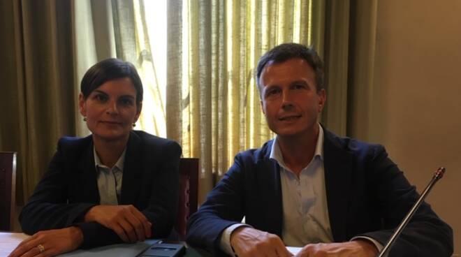 Marco Martinelli Simona Testaferrata consiglieri opposizione Lucca