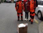 Marco Salvadori da Marti in Polonia aiutano l'ospedale per il coronavirus