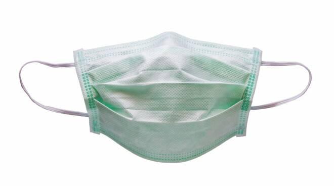 mascherina chirurgica tessuto non tessuto ospedale