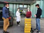 mascherine consegna San Luca ospedale Ffp2