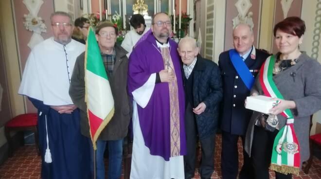 Messa con il vescovo a Pieve Fosciana