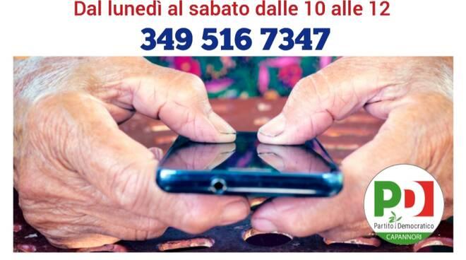 numero di telefono coronavirus Pd Capannori