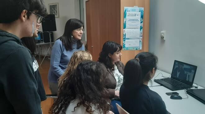 progetto Life Inspire istituto Cattaneo San Miniato scambio culturale Grecia Skype