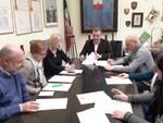 sindaco Porcari incontro Comune tecnici dirigenti