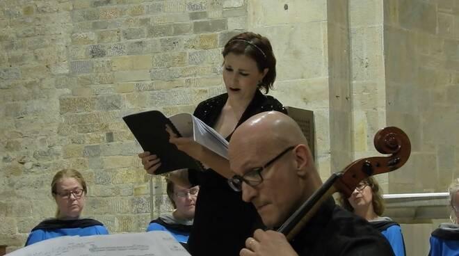 soprano Boccherini concerto Animando Jennifer Schittino