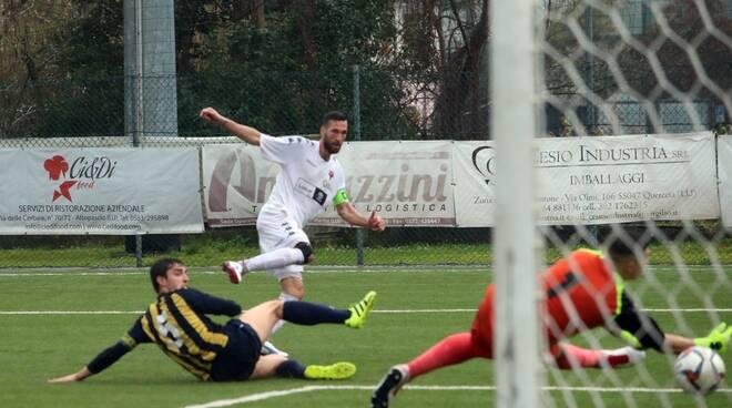 Tau Calcio Castelnuovo calcio Eccellenza 1 marzo 2020