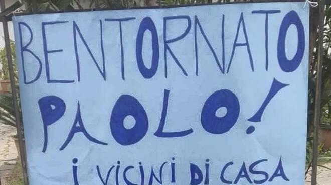 cartello Altopascio ritorno casa coronavirus