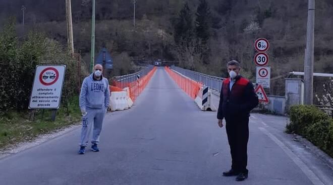 Chiusura Ponte Morandi Vagli Sotto