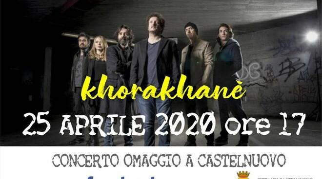 Concerto virtuale 75 anni Liberazione a Castelnuovo
