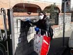 consegna mascherine famiglie Altopascio