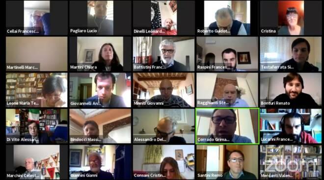 consiglio comunale teleconferenza Comune di Lucca 10 aprile 2020
