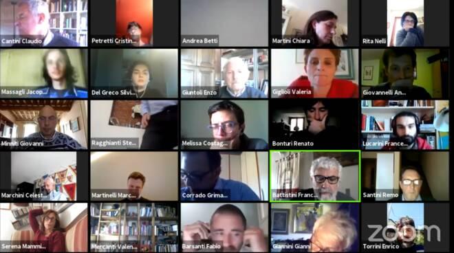 consiglio comunale videoconferenza Lucca 10 aprile