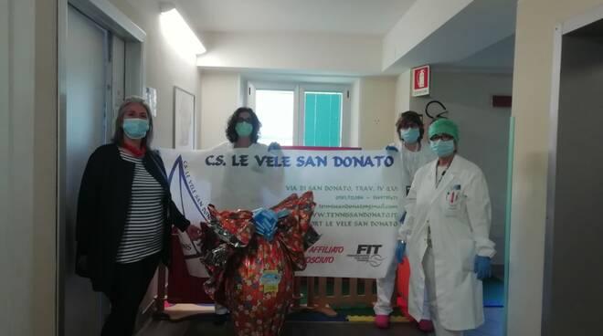Donazioni uovo di pasqua ospedali
