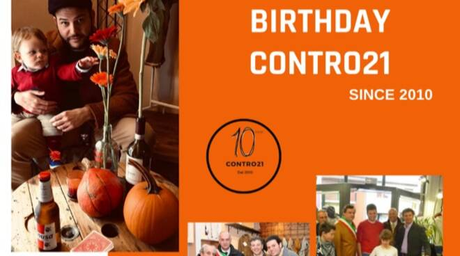 Festa 10 anni di Conro21 Fornaci
