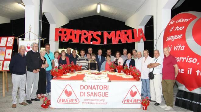 festa donatore Fratres di Marlia