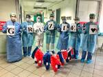 coronavirus ringraziamento reparto
