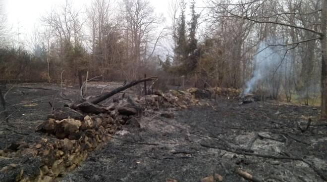 Incendio Villa Collemandina