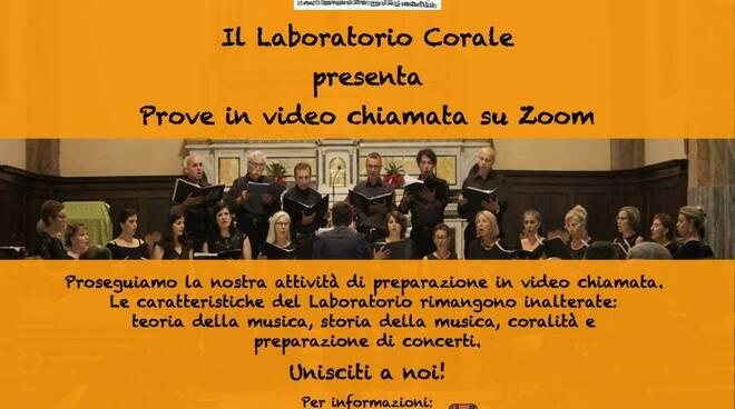 laboratorio corale Manuel Del Ghingaro Zoom
