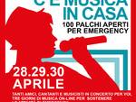 locandina concerto Emergency Lucca beneficenza