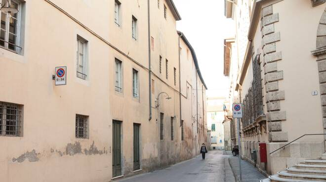 Lockdown a Lucca ancora immagini di una città deserta