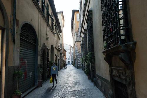 lockdown Lucca immagini Lorenzo Breschi