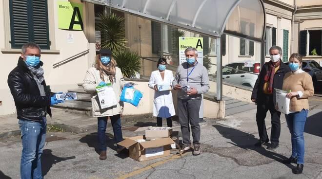 mascherine e kit di protezione coronavirus comune fucecchio