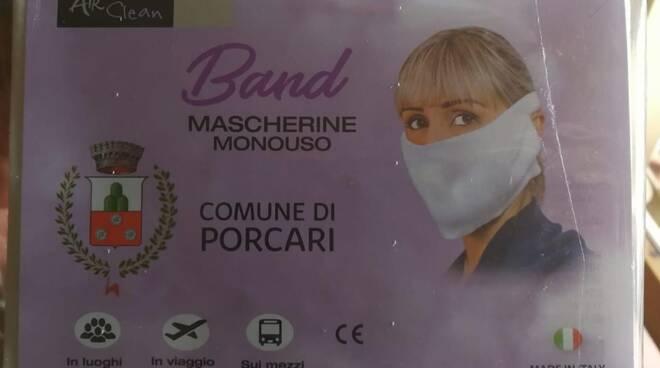 mascherine porcari