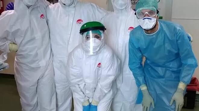 personale terapia intensiva di Lucca