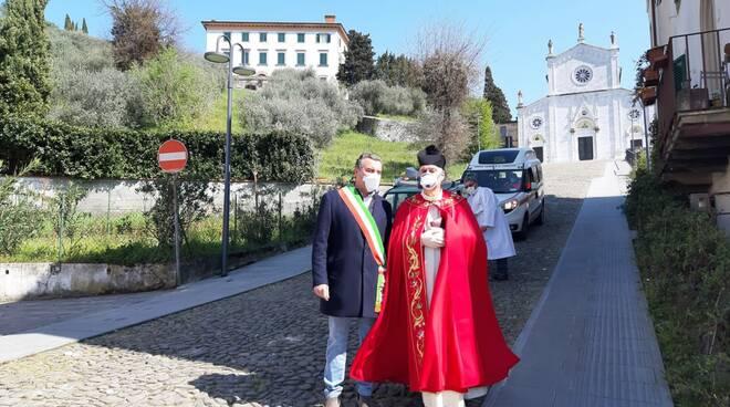 Porcari benedizione itinerante Domenica delle Palme