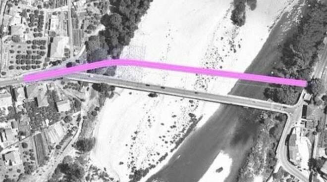 progetto per il ponte di albiano magra