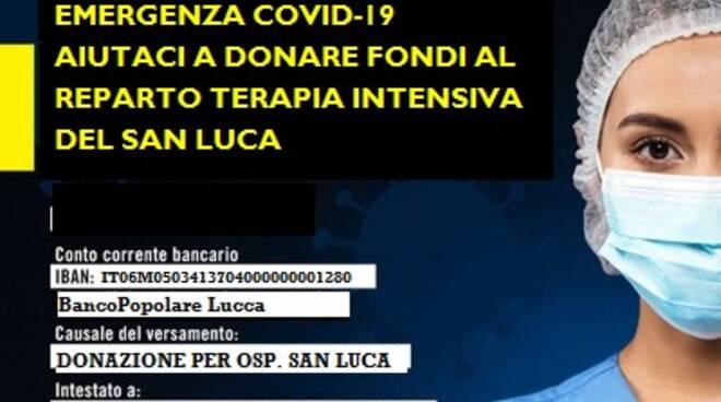 Raccolta fondi associazione Parco di Sant'Anna