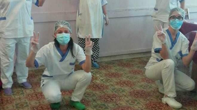 Rsa Sereni Orizzonti di Barga coronavirus emergenza tamponi negativi