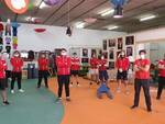 Rugby Lucca aiuto viveri Caritas