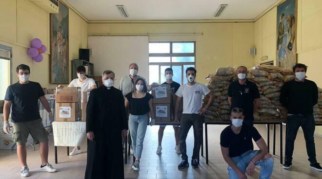 SOS SPESA della Round Table 76 San Miniato Fucecchio  alla caritas