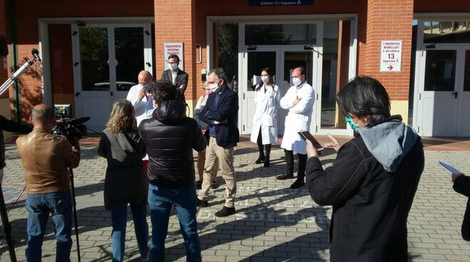 sperimentazione plasma Aoup Regione Toscana